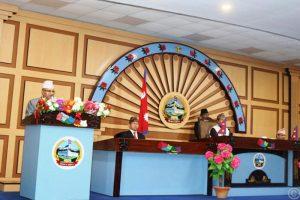 प्रदेश ५ को राजधानी दाङ राख्ने निणय पारित