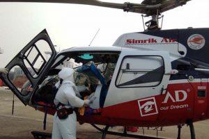 सुदुरपश्चिमका कोविड १९ संक्रमित मन्त्री शाहको स्वास्थ्य अवस्था गम्भीर,हेलिकप्टरद्वारा काठमाडौ ल्याइयो